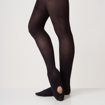 Silky Ballet Convertible Tights Black AD104