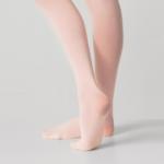 Silky Ballet Full Foot Tights Pink AD103