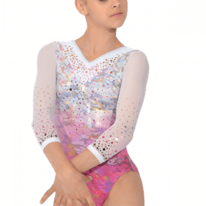 delight-3-4-sleeve-girls-gymnastics-leotard