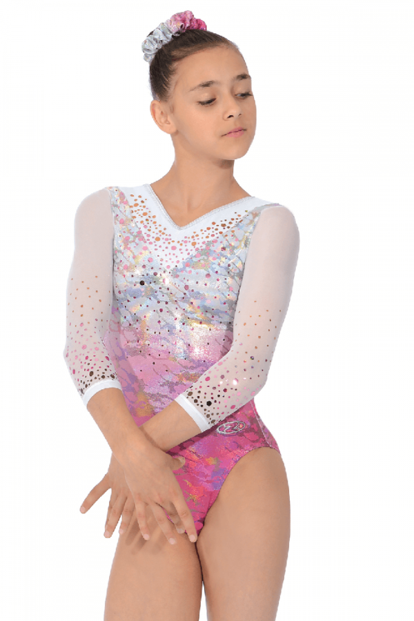 delight-3-4-sleeve-girls-gymnastics-leotard