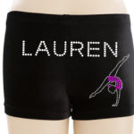 new gymnast shorts 1 and name