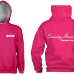 turning point pink hoodie