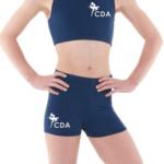 crop and shorts CDA